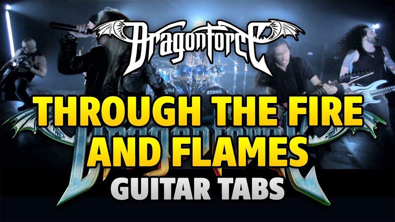 TINA S - THROUGH THE FIRE AND FLAMES - Animated Tab