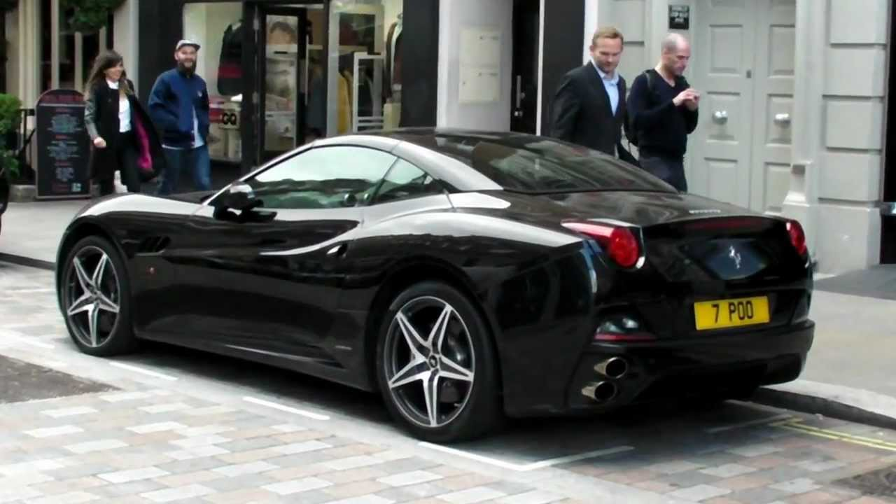 Ferrari California Black London Youtube