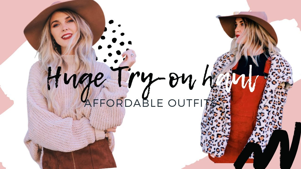 2018 JADES LOOKBOOK | $500 BOUTIQUE HAUL | HOW TO STYLE | AW18 OUTFIT INSPO