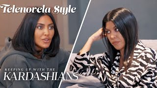 Kourtney & Kim Turn Candy Land Party Sour | KUWTK Telenovelas | E!