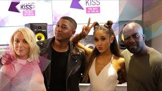 Ariana Grande talks