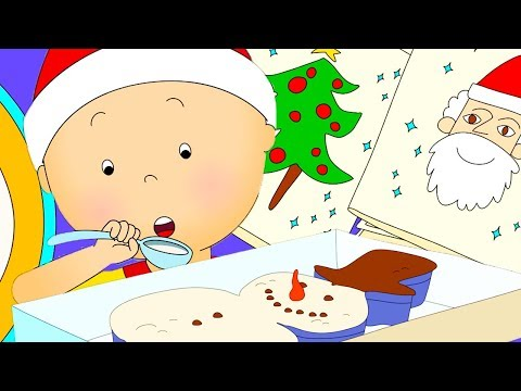Caillou Amazing Week  Christmas Cartoons for kids  Funny Animated Cartoon  Caillou Holiday Movie