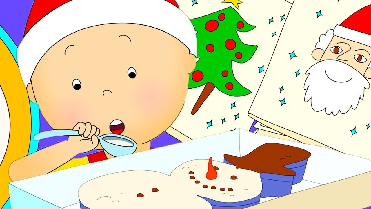 Caillou Amazing Week | Christmas Cartoons for kids | Funny Animated Cartoon | Caillou Holiday Movie