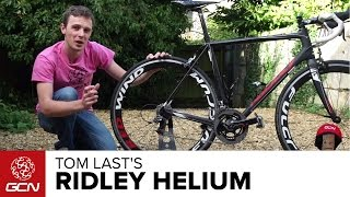 Presenters' Bikes – Tom Last's Ridley Helium