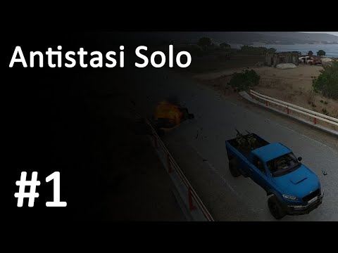 2019-04-02] Arma 3 Antistasi - Continued plotting with the