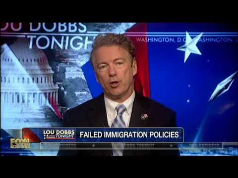 Sen. Paul: 'We Are Fools' If We Don't Enforce Stricter Immigration Rules
