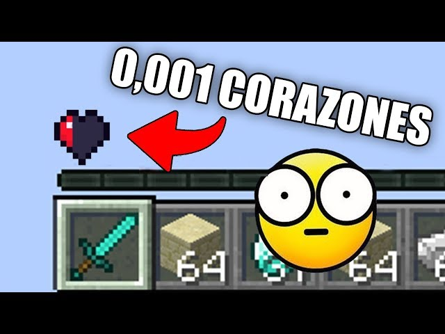 TODOS A 0,001 CORAZONES EN EGGWARS!! VAYA LOCURA! ????  MINECRAFT