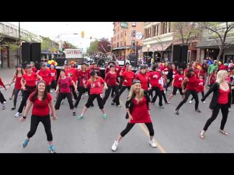 Dont Stop The Party Flashmob Pitbull Shift Enterprises Let's Move Studio Boogie The Bridge 2013