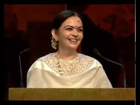 Smt. Nita Ambani Speaking at Satyamev Jayate Water Cup 2017 Awards (Paani Foundation)
