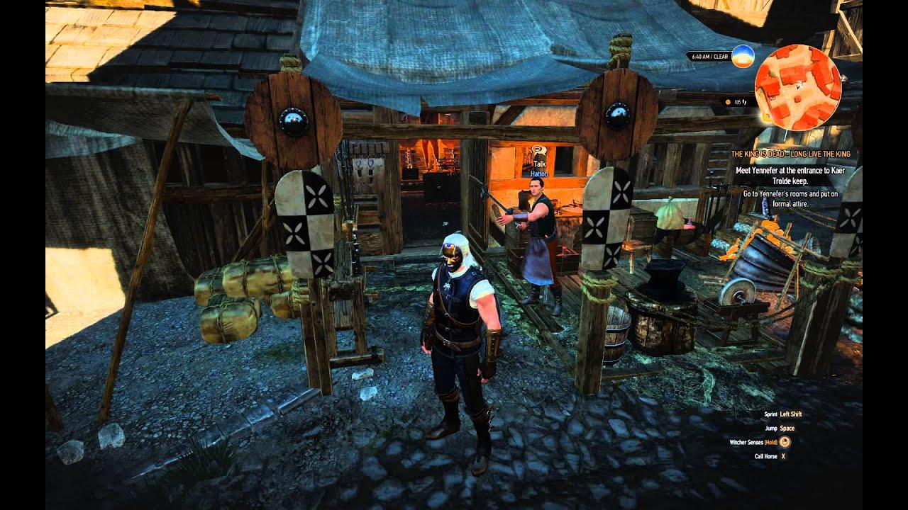 The Witcher 3 Hattori