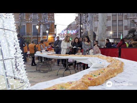 VÍDEO: Nuestro reportaje sobre el Roscón de Reyes de Lucena: 5.000 porciones de solidaridad