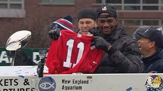 Patriots Super Bowl Parade: Jacoby Brissett Has No Time For A Julian Edelman Jersey