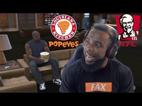 SHAQ Actually Brought Fried Chicken To My Crib! NBA 2K19 MyCareer Ep 27