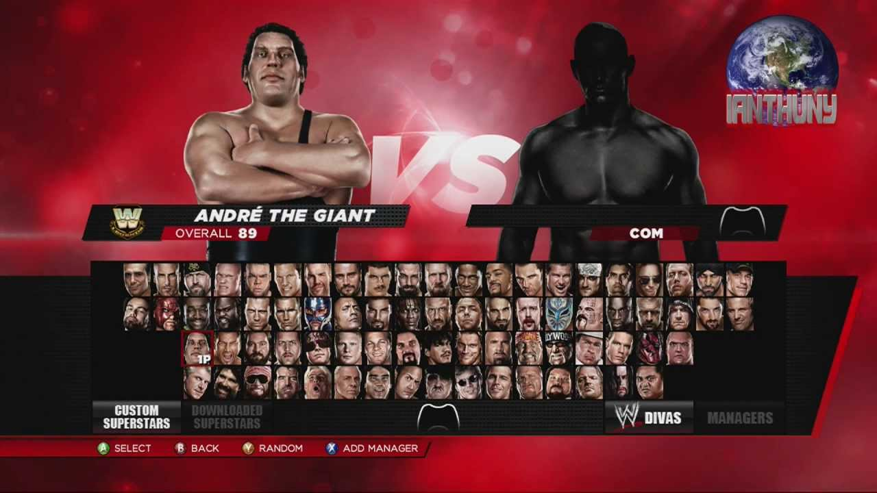 wwe 2k14 complete roster 1080 hd youtube