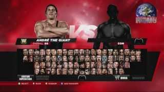 WWE 2K14 Complete Roster 1080 [HD]