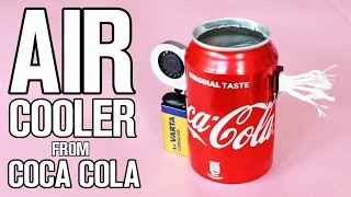 How To Make AIR Cooler from Coca Cola