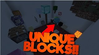 EVERY BLOCK IS UNIQUE! |