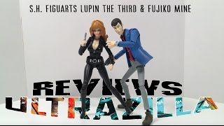 S.H. FIGUARTS LUPIN THE THIRD & FUJIKO MINE REVIEW!