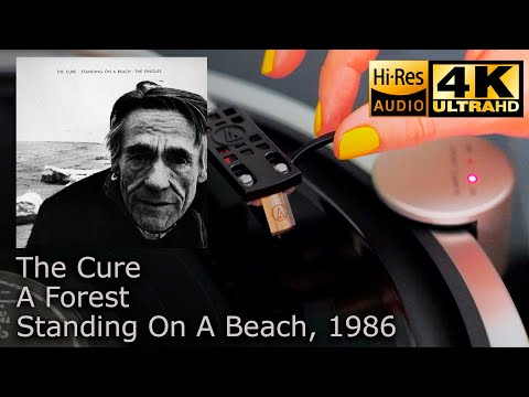 The Cure - A Forest (Standing On A Beach · The Singles), Vinyl video 4K, 24bit/96kHz