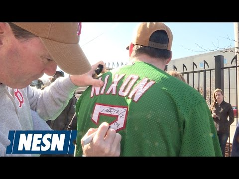 Trot Nixon Surprises Hard-Working Fans With  47 And Carhartt Gear ... e6691171b4c4