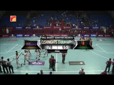 IBL 2016 CLS Knights Surabaya vs Stadium Happy 8 Jakarta