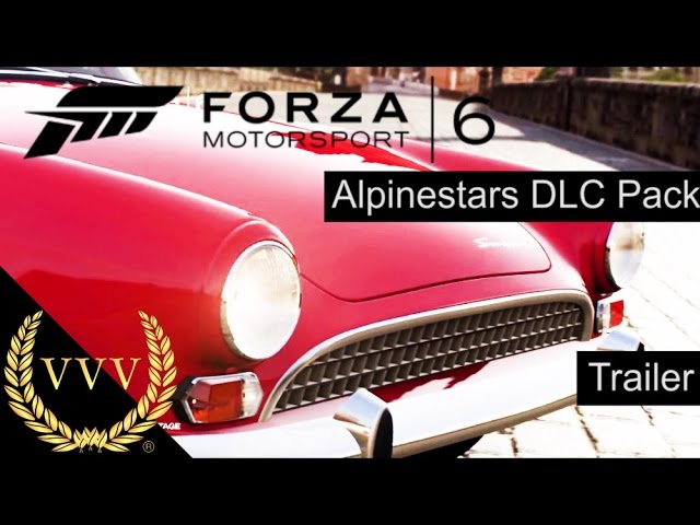 Forza Motorsport 6 - Alpinestars Car Pack Trailer