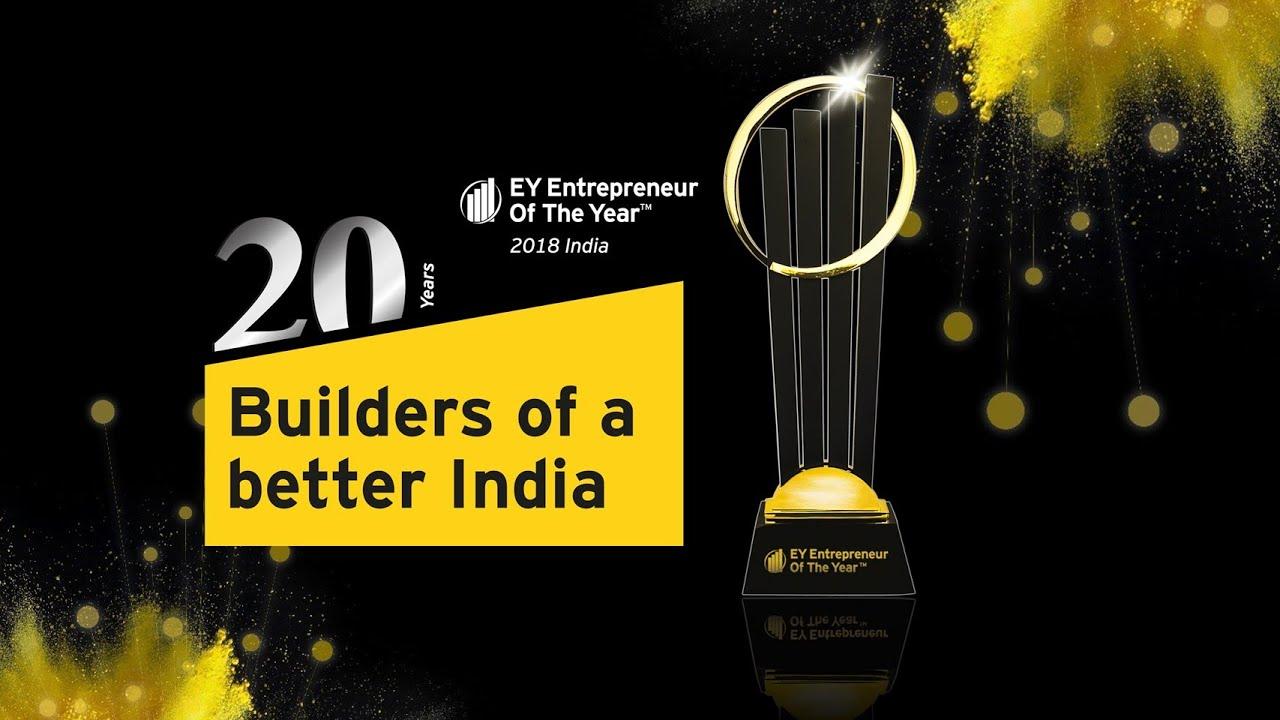 Celebrating India Inc's Disruptors and Unicorns - Meet the EOY India 2018 Finalists