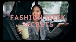 Everything You Need To Know About Fashion Week Q&A | Aimee Song