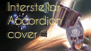 Amazing: Interstellar on the Accordion. No time for caution.   .  .
