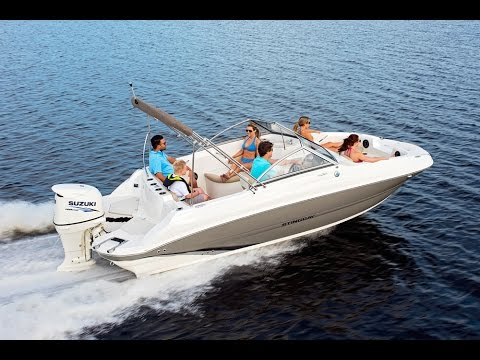 STINGRAY 201DC Deck Boat