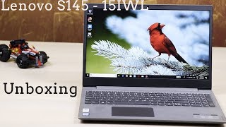 Lenovo S145 - 15IWL [India] Laptop - Unboxing, Specification and Customisation