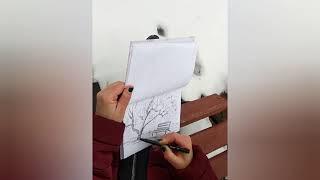 Наброски и зарисовки пейзажа