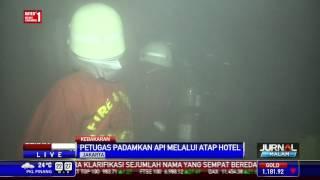 Hotel Bidaraka Terbakar Saat Sedang Ada Pameran