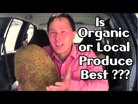 Is Organic or Local Produce Best? & Healthy Raw Food Haul