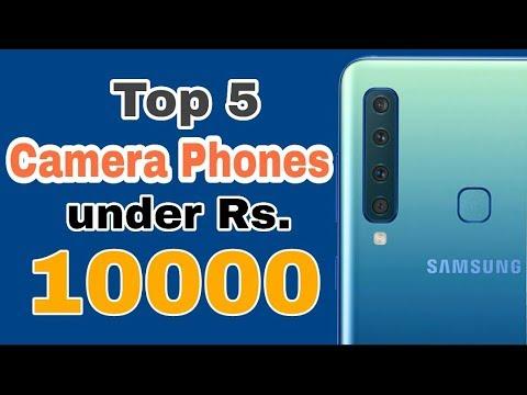 Top 5 Camera Phones Under Rs.10000 In INDIA ||2019||