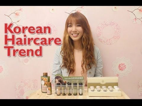 korean hair styling products korean haircare trend how to prevent the hair loss 4558