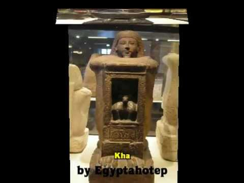 EGYPT 295 - ART of ANCIENT EGYPT V *CUBE STATUES* (by Egyptahotep)