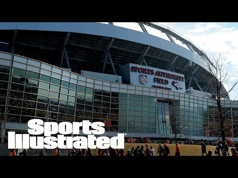 Fan Falls 30-50 Feet At Broncos' Stadium | SI Wire | Sports Illustrated