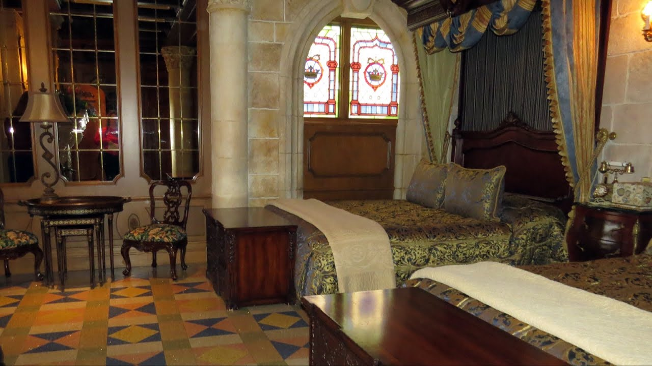 Cinderella Castle Suite Detailed Tour At The Magic Kingdom 2017 Limited Time 2007 Stay
