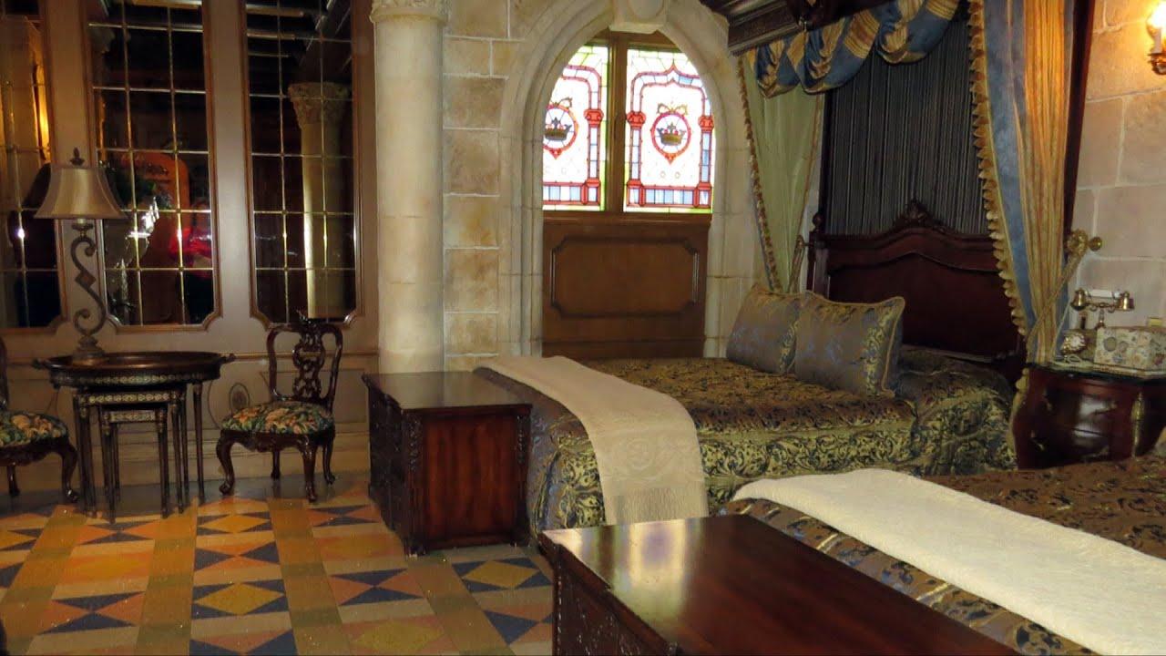 Apartment Inside Cinderella S Castle cinderella castle suite detailed tour at the magic kingdom - 2013
