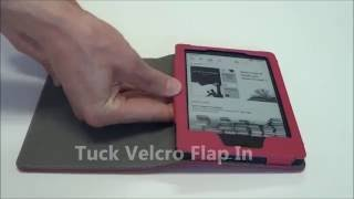 Fintie Kindle 8th Generation Folio Case - Features and Benefits