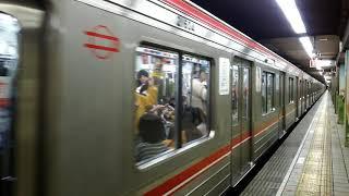 大阪メトロ21系 動物園前駅発車【大トロ】