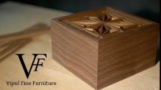 Making a Japanese Kumiko box (4k)