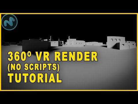 How To Create 360 Virtual Reality Renders For YouTube - Filmmaking Tutorial