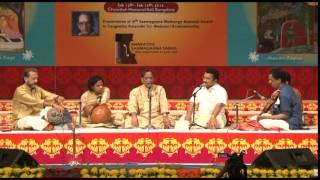 2014 - Concert by Dr. M Balamuralikrishna (Carnatic Vocal) - Part One