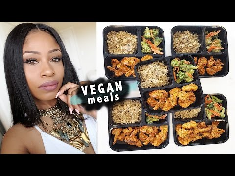 HOW TO MEAL PREP LIKE A BOSS!   5 days of vegan meals