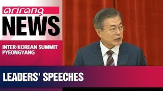Moon Jae-in, Kim Jong-un talking on day 1