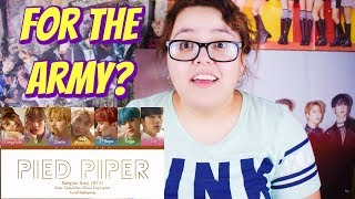 Video BTS Pied Piper Lyrics Reaction download MP3, 3GP, MP4, WEBM, AVI, FLV Juli 2018