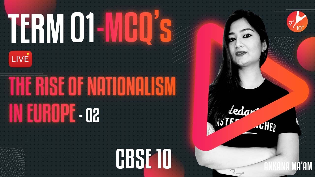 Download Term 1 MCQ's - The Rise of Nationalism in Europe L-2 | CBSE Class 10 History Chapter 1 | Vedantu SST
