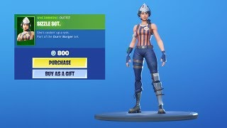 'NOUVEAU' SIZZLE SERGEANT SKIN! Fortnite Item Shop 16 septembre